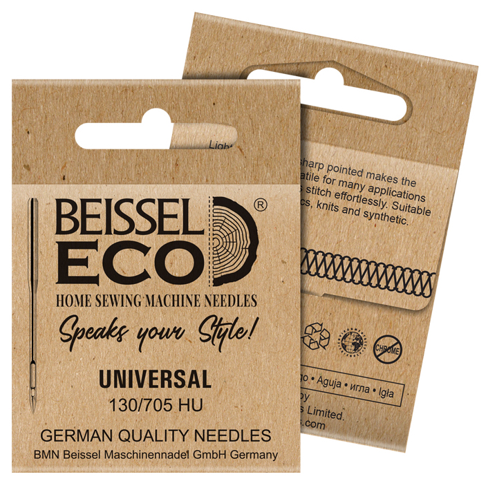 Eco-friendly, sustainable packaging design for Beissel Eco