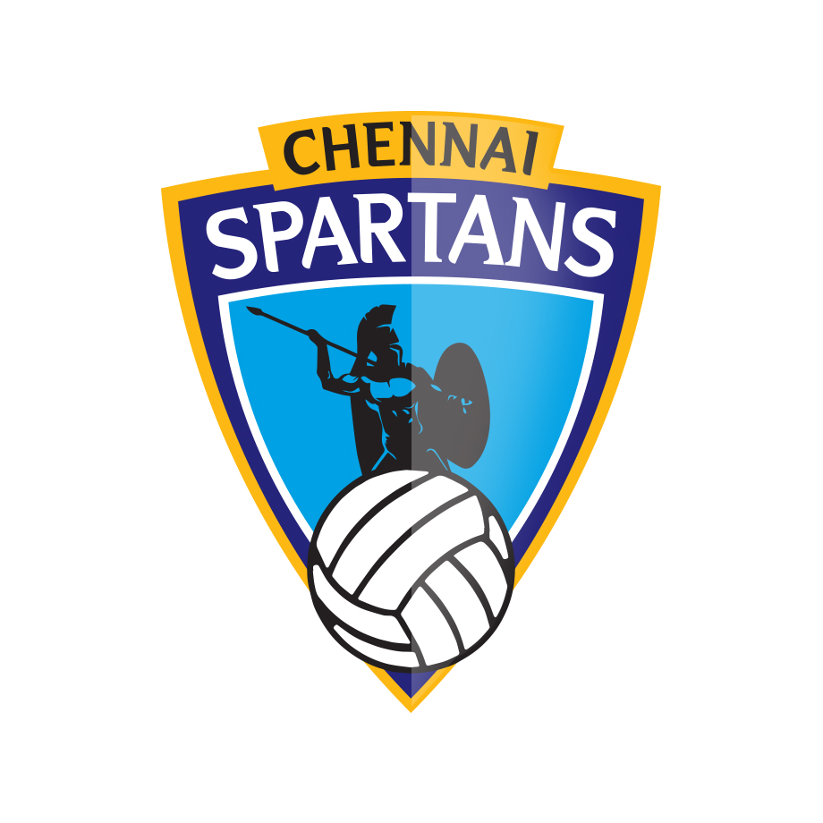Brand identity design for Chennai Spartans