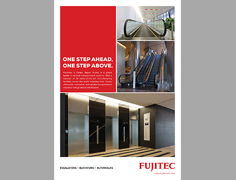 Brochure design for Fujitec