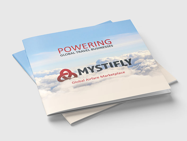 Brochure design for Mystifly